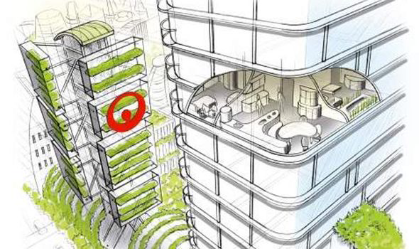 Energy-saving house of the future will have no bins and a self-cleaning bathroom