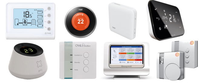 Smart energy systems: Nest vs Hive vs Evohome vs Heat Genius vs OWL vs Tado vs Salus iT500 vs Cosy vs Climote